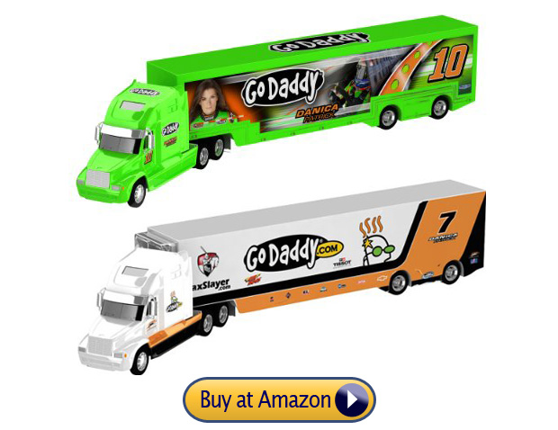 Danica Patrick Nascar Event #10 and #7 Hauler Toy